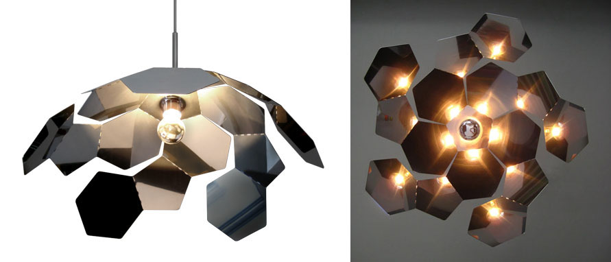 The Starflower Lamp Is A Piece Of Universe On Your Ceiling