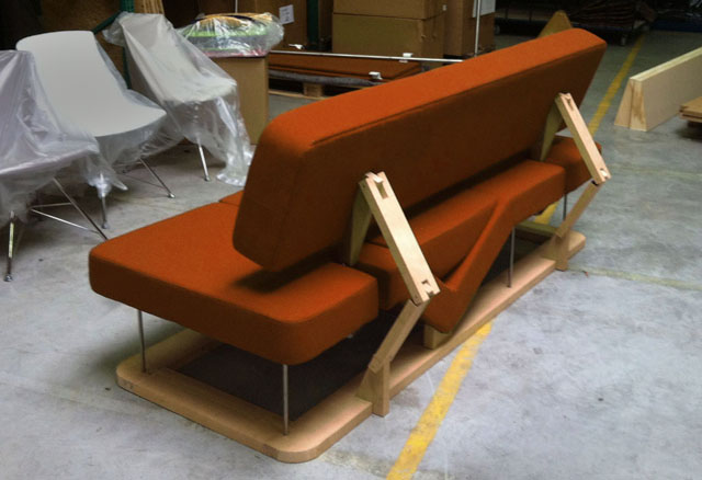George Hlavacs EQ sofa