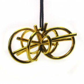 The Higgs Boson Necklace is  designed to celebrate the fascinating discoveries of science...